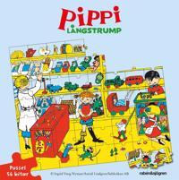 Pippi Långstrump Pussel 56 bitar