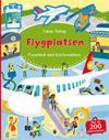 På flygplatsen : pysselbok med klistermärken