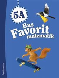 Bas Favorit matematik 5A - Elevpaket (Bok + digital produkt)