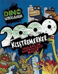 Dino Supersaurus. 2000 klistremerker - Andrew Davidson pdf epub