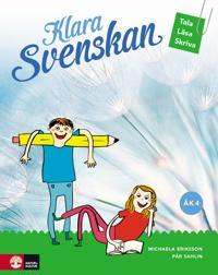Klara svenskan åk 4 Elevbok Tala, läsa, skriva