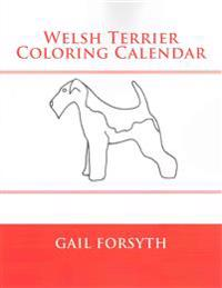 Welsh Terrier Coloring Calendar