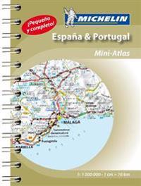 Spain & portugal - mini atlas - mini atlas spiral