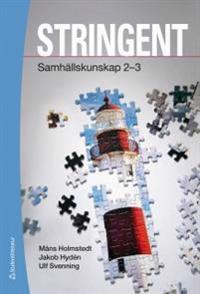 Stringent - Elevpaket (Bok + digital produkt) - Samhällskunskap 2-3