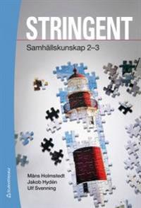 Stringent Elevpaket - Digitalt + Tryckt - Samhällskunskap 2-3