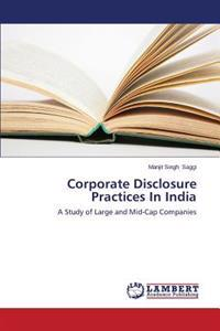 Corporate Disclosure Practices in India