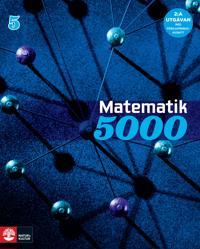 Matematik 5000 Kurs 5 Blå Lärobok, andra upplagan