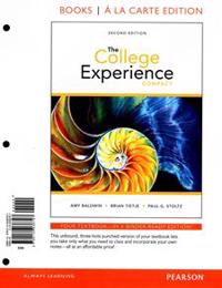 College Experience Compact, The, Student Value Edition Plus New Mylab Student Success -- Access Card Package