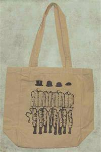 Clockwork Orange - Natural Cotton Canvas Tote