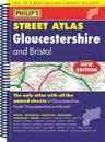 Philip's Street Atlas Gloucestershire and Bristol