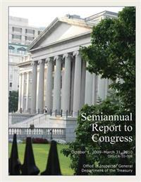 Semiannual Report to Congress October1,2009- March 31, 2010