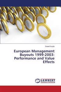 European Management Buyouts 1999-2003