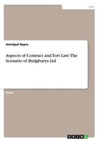 Aspects of Contract and Tort Law
