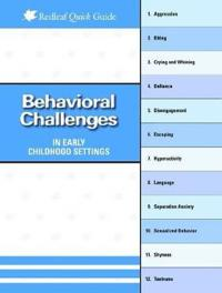 Behavioral Challenges in Early Childhood Settings