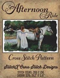 Afternoon Ride Cross Stitch Pattern