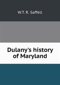 Dulany's History of Maryland