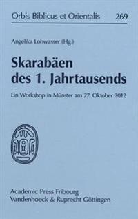 Skarabaen Des 1. Jahrtausends: Ein Workshop in Munster Am 27. Oktober 2012