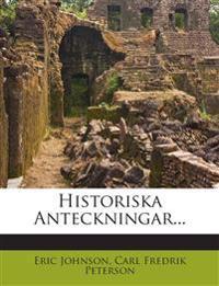 Historiska Anteckningar...