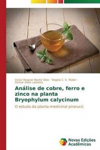 Analise de Cobre, Ferro E Zinco Na Planta Bryophylum Calycinum