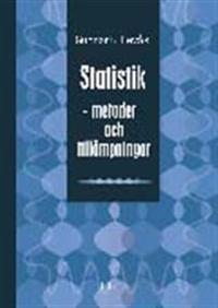 Statistik - metoder och tillämpningar