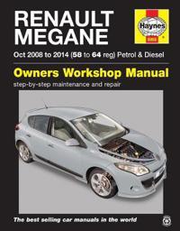 Renault Megane Petrol and Diesel Owner's Workshop Manual