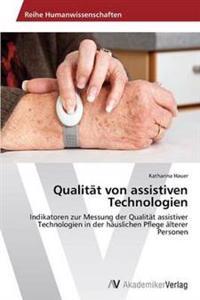 Qualitat Von Assistiven Technologien