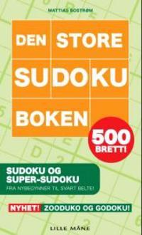 Den store sudoku-boken