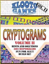 Klooto Games Cryptograms Vol. II