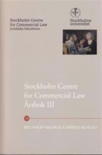 Stockholm Centre for Commercial Law årsbok. 3