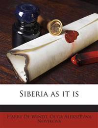 Siberia as it is