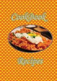 Cookbook Recipes (Orange Checkerboard Chicken Blank Cookbook)