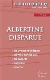 Fiche de lecture Albertine disparue de Marcel Proust (analyse complète)