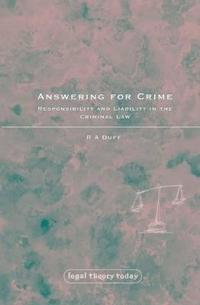 Answering for Crime