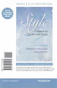 Style: Lessons in Clarity and Grace, Books a la Carte Edition