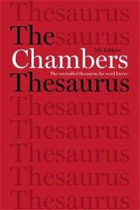 Chambers Thesaurus, 5th Edition