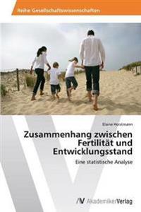 Zusammenhang Zwischen Fertilitat Und Entwicklungsstand