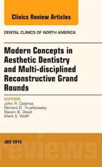 Modern Concepts in Aesthetic Dentistry and Multi-disciplined Reconstructive Grand Rounds