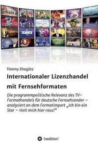 Internationaler Lizenzhandel Mit Fernsehformaten