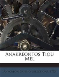 Anakreontos Tiou Mel
