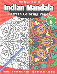 Mandalas to Color: Indian Mandala Pattern Coloring Pages