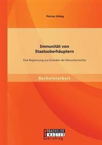 Immunitat Von Staatsoberhauptern