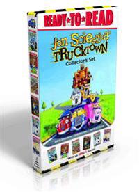 Trucktown Collector's Set: Dizzy Izzy; Kat's Maps; Trucks Line Up; Uh-Oh, Max; The Spooky Tire; Kat's Mystery Gift
