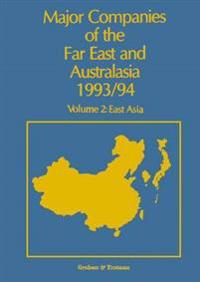 Major Companies of the Far East and Australasia, 1993-94