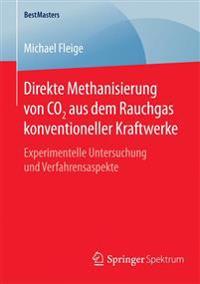 Direkte Methanisierung Von Co2 Aus Dem Rauchgas Konventioneller Kraftwerke