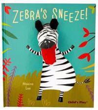 Zebra's Sneeze!