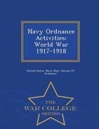 Navy Ordnance Activities