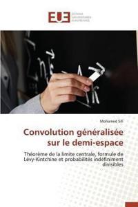 Convolution Generalisee Sur Le Demi-Plan