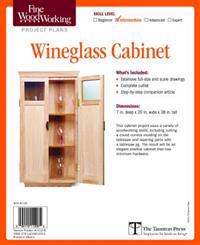 Fine Woodworking's Wine Glass Cabinet Plan