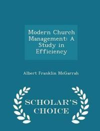 Modern Church Management