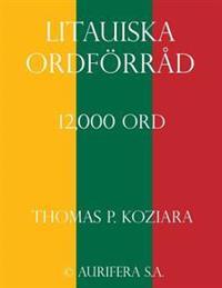 Litauiska Ordforrad